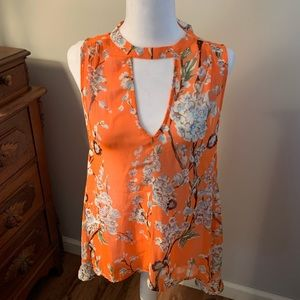 NWT MISS ME floral tank top